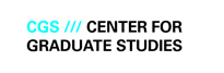 Logo Center for Graduate Studies (CGS)